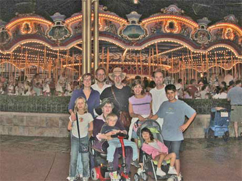 Disney should be a fun place to go for everyone, abd while we are all fmiling here because we love being with our family, we and many disabled people we met at Disney feel that Disney has a lot to learn when it comes to making a vacation accessible and enjoyable for the disabled.