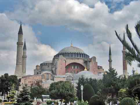 Hagia Sophia, the great church-mosque of Istanbul