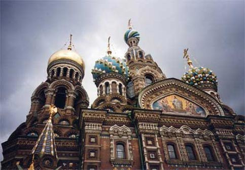 St Petersberg in Russia offers views that are magnificient