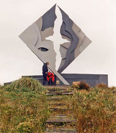 Albatros Monument, Chile - Don't let a disability stop you from traveling